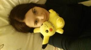 My Pikachu always makes me feel welcome :)