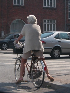 After getting repeatedly overtaken by geriatrics you'll understand.